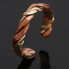 Mens Tibetan Medicine Ring Copper Magnetic Adjustable Ring With Pure Copper