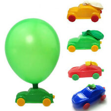 1pc Balloon Car Vehicle DIY Build Kit Project Kids Science Experiment Toy Gift