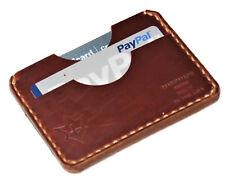 Handmade Leather PARVUS Wallet Tan Chromexcel W/ Money Band