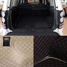 PU Rear Trunk Cargo Liner Protector Mat Seat Back Pad For Land Rover Discovery
