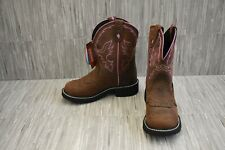 Justin Gypsy Gemma L9903 Western Boots - Women's Size 5B, Brown - NEW