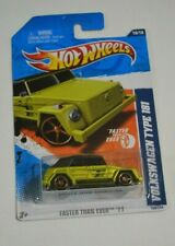2011 HOT WHEELS FASTER THAN EVER '11 VOLKSWAGEN TYPE 181 SATIN GREEN