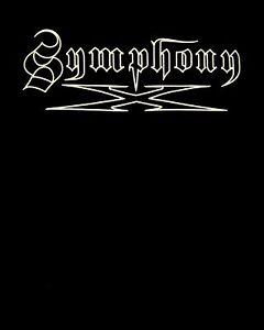 SYMPHONY X cd cvr WHITE LOGO Official SHIRT XXL 2X New underworld