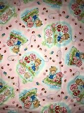 VINTAGE STRAWBERRY SHORTCAKE COTTON FABRIC BTY