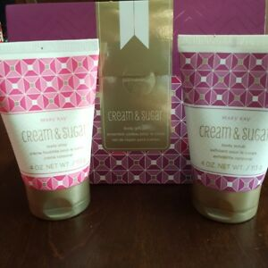 Mary Kay Limited Edition Cream And Sugar Body Gift Set