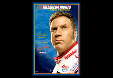 TALLADEGA NIGHTS Ricky Bobby Motivational Poster (Will Ferrell) NASCAR Poster
