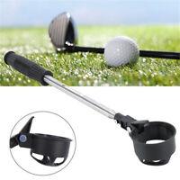 Telescopic Shaft Golf Ball Pick Up Retriever Scoop Sport Stainless Steel Outdoor