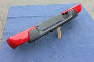 04-12 COLORADO CANYON REAR BUMPER ASSEMBLY UPPER PAD GENUINE FACTORY OEM RED