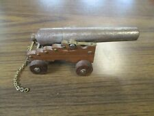 "Vintage Handmade Toy Cannon w/ 5"" Barrel"