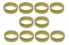 22mm Brass Olives For Compression Plumbing Fittings   10 Pack