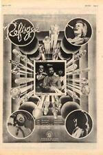 Refugee UK Tour advert 1974