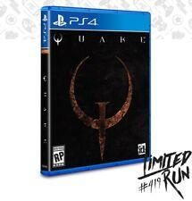 Limited Run #419 Quake PS4 (Playstation 4) PRESALE Unopened Read Description