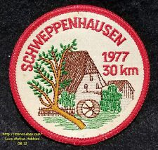 LMH Patch Badge  OLMUHLE SCHWEPPENHAUSEN Bad Kreuznach Old GRIST MILL Germany