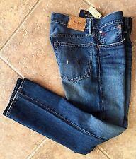 Polo Ralph Lauren Mens Jeans 36 x 32 Bootcut Cedar Wash Classic NWT 710533862001