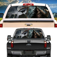 Grim Reaper crow cemetery Rear Window Graphic Decal Graphic Decal for Pickup