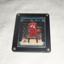 NBA Lebron James Cleveland Cavaliers Bowman Rookie Card - Rare - In Holder