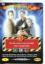Doctor Who Battles In Time Invader #440 vortex manipulator teleport