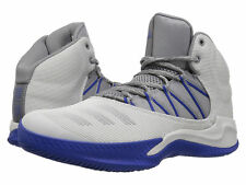 ADIDAS INFILTRATE MEN'S GRAY/BLUE BASKETBALL SHOES #BY4226