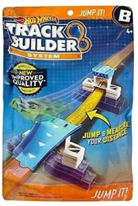 Hot Wheels - DLF05 - Track Builder System Accessory Jump it Toy Car Playset #NG