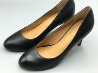 "Corso Como Del Diamond Womens Classic Black 3"" Heels Leather Size 8.5 Shoes"
