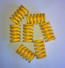 7 Die Springs   31 x 52 x 6 coil  New AW Precision-Danly Yellow Heavy load-QTY 7