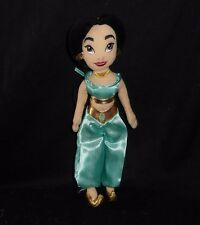 "11"" DISNEY STORE ALADDIN PRINCESS JASMINE GIRL DOLL STUFFED ANIMAL PLUSH TOY"