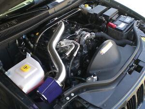 Black Blue For 2005-2009 Jeep Grand Cherokee Commander 4.7L V8 Long Air Intake