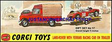 Corgi Toys Land Rover mit Ferrari On Trailer GS 17