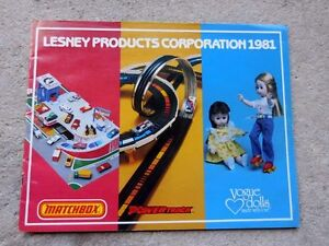 Lesney Products Corporation 39 Page Catalog Matchbox Cars Vogue Dolls Ginny 1981