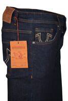 Men's True Religion Rocco Slim Fit Stretch Blue Jeans (W30-W38)  Leg 32 RRP £149