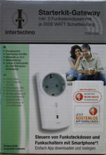 ITGW-433L Starterkit-Gateway Funk Steckdose Schaltung Schalter WLAN Smartphone