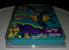 Perler Beads tropical fish fuse bead activity kit new in package 2006 Craft Kids