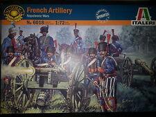 FRENCH ARTILLERY (NAPOLEONIC WARS)  ITALERI 1/72 PLASTIC FIGURES