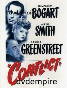 Conflict DVD Humphrey Bogart New and Sealed Australian Release