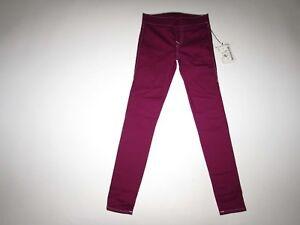 True Religion Women's Starlet Legging Jeans Size XXS NWT Berry Wash Pull On