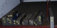"D-2 Tool Steel Drops, 1"" x 9"" x 15 1/2"" (1C7)"