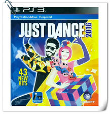 PS3 MOVE JUST DANCE 2016 Sony PlayStation Games Ubisoft Music