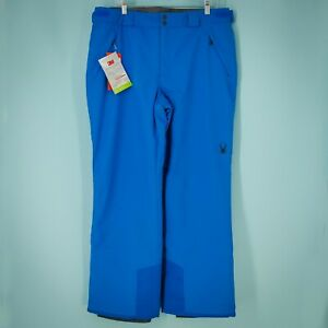 Spyder Size Large L Pants Mesa Gore Tex Ski Snow Adjustable Blue Collegiate NWT