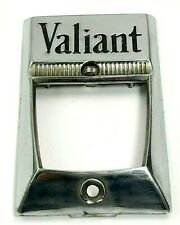 Plymouth Valiant  Hood Release Emblem 1960 -1961 Chrome