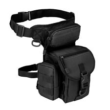 Leg Bag Military Tactical Drop Thigh Pouch Panel Utility Waist Belt Motorcycle