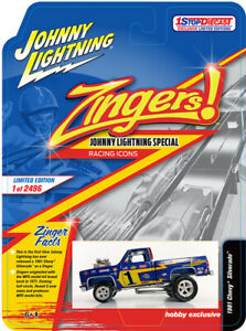 PRE-ORDER 1 STOPDIECAST EXCLUSIVE JOHNNY LIGHTNING SQUAREBODY ZINGER ICONS