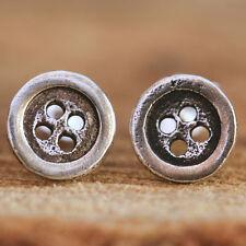 Screw Back (pierced) Handmade Fine Earrings without Stones