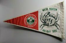 "British camping club west runton Holiday site pennant 12"""