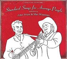 FREE US SH (int'l sh=$0-$3) NEW CD John Prine & Mac Wiseman: Standard Songs for