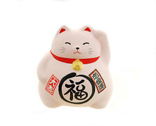 Tirelire Chat Prosperite figurine Japon Maneki Neko Rose 80  2122SL