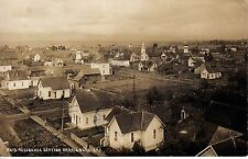 RPPC 1912 Birds eye view residence section Harrisburg 12827