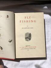 Fly Fishing Sir Edward Grey HB Ed