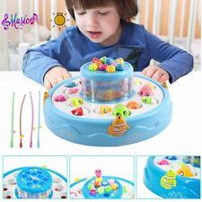 Magnet Angelspiel Set Wasserspiel Fische Angeln Lernspiel Spielzeug für Kinder