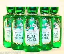 NEW! 5 Bath & Body Works VANILLA BEAN NOEL Body Wash/ Shower Gel
