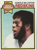 FREE SHIPPING-MINT TO NRMINT-1979 Topps #111 Harold McLinton Redskins